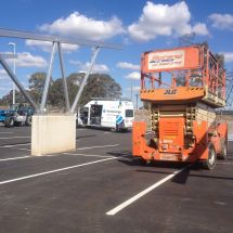 Elevated Work Platform - Scissor Lift Hire - electric scissor lift - Botany Access Hire Sydney