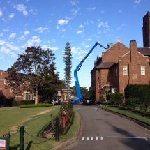Elevated Work Platform - Boom Lift Hire - knuckle boom - Botany Access Hire Sydney