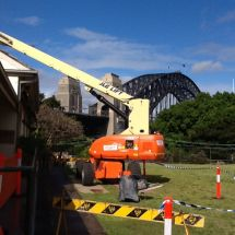 Elevated Work Platform - Boom Lift Hire - stick boom - Botany Access Hire Sydney