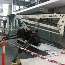 Elevated Work Platform - Cherry Picker Hire - Spider Knuckle - Botany Access Hire Sydney